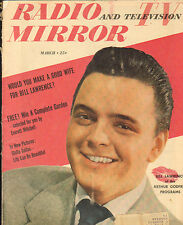 Radio And Tevevison Mirror-3/50-Cover Bill Lawrence-----29