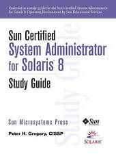 Acceptable, Sun Certified System Administrator for Solaris 8 Study Guide (Sun Mi