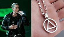 Music Eminem The Best RAPPER Grammy Titanium Steel Chain Rock Pop Necklace QQ