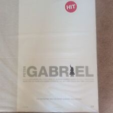 Huge Vintage Peter Gabriel CD Original HIT Promo Rock Music Poster Memorabilia