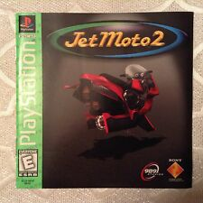 Jet Moto 2 for PS1 (for Sony PlayStation 1 or 2)
