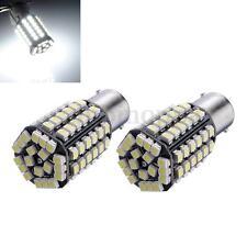 2pcs Car 1156 382 BA15S P21W 80 SMD LED Xenon White Tail Brake Signal Light Bulb