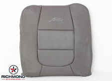 2002 Ford F150 4X4 Lariat SuperCrew 2WD-Driver LEAN BACK Leather Seat Cover Gray