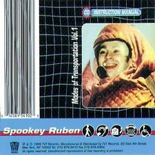 Spookey Ruben Volume I - Modes of Transportation CD