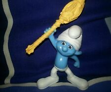 2011 McDONALDS SMURFS - CLUMSY SMURF Figure Happy Meal Toy #5