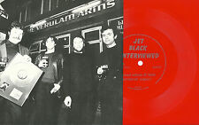 THE STRANGLERS Jet Black Interview RED FLEXI 1987 Punk KBD New Wave 500 MADE!!!
