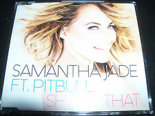 Samantha Jade Feat Pitbull Shake That Australian CD Singe – Like New