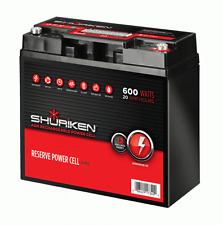 SHURIKEN BT20 600W 20AMP HOURS Compact Size AGM 12V Car audio Battery
