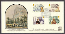 1987 QUEEN VICTORIA SET OF 4 ON COVERCRAFT OFFICIAL FDC SPECIAL CANCELLATION