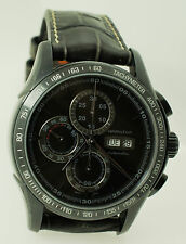 Lord Hamilton Jazzmaster Gray PVD Automatic Chronograph Watch H328860 H32886831