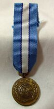 UNITED NATIONS MEDAL FOR CYPRUS ( UNFICYP ) MINIATURE DRESS MEDAL 19mm DIAMETER