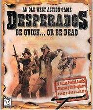 DESPERADOS BE QUICK OR BE DEAD PC Game CD-ROM Shooter NEW IN BOX