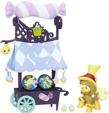 My Little Pony FIM Collection Nightmare Night Applejack Sweet Cart Figure Set