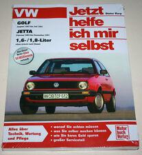 Reparaturanleitung VW Golf II / 2 + Jetta mit 1,6 / 1,8 l, Baujahre 1983 - 1992
