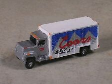 N Scale Coors Light Beer Delivery Truck