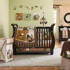 Monkey Bars Crib Bedding Set  Carters Nursery Neutral Quilt Bumper Sheet 4Pc NEW