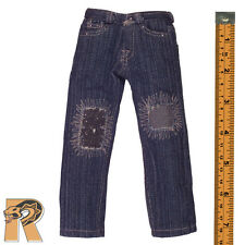 onesixth Jeans - Blue Jeans Pants w/ Patches #5 1/6 Scale Armoury Action Figures