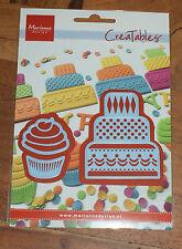 MARIANNE CREATABLE LR0341 MINI CAKE & CUPCAKE cutting die