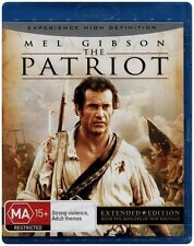 """THE PATRIOT"" Blu-ray (Mel Gibson) Brand New & Sealed"