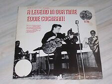Eddie COCHRAN - A Legend in our Time / Rare UNION PACIFIC - LP, No. U.P. 001  !!