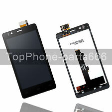 Pantalla LCD Digitalizador Touch Screen Asamblea Para BQ Aquaris E5 5K0858 Negro