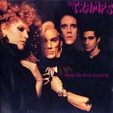 The Cramps Songs The Lord Taught Us CD+Bonus Tracks NEW SEALED 1998 Psychobilly