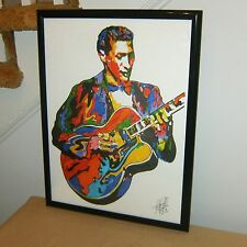 Scotty Moore, Elvis, Lead Guitar Player, Rockabilly Guitarist, POSTER w/COA