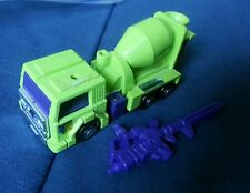 Transformers G1 CONSTRUCTICON MIXMASTER WITH GUN EXCELLENT SHAPE 1985 FREE S/H