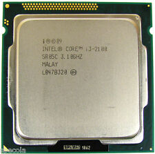 Intel Core i3-2100 - 3.1 GHz Dual-Core  CPU s.1155 CPU ONLY TESTED WARRANTY