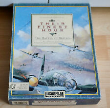 The Finest Hour-The Battle of Britain: Commodore/amiga/embalaje original/Boxed