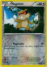 Nagelotz 60 KP - 78/98 - Holo Karte - Pokemon Aufstreben der Mächtigen - Neu