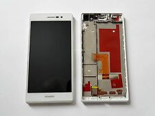 Original HUAWEI ASCEND P7 L10 LCD DISPLAY Digitizer & FRAME White - Grade A