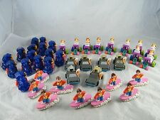 LOT OF MCDONALD'S BACK TO THE FUTURE HAPPY MEAL TOYS WITH SETS AND MANY EXTRAS