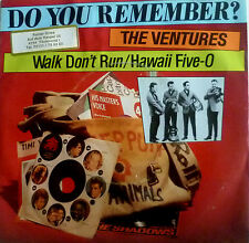 "7"" RAR VG+++! VENTURES : Walk Don´t Run + Hawaii Five-O"
