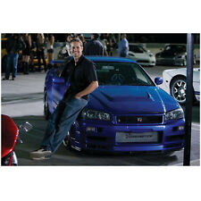 Paul Walker in Fast & Furious Leaning Against Car 8 x 10 Inch Photo