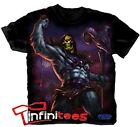 Skeletor Victory Pose He Man Masters Of The Universe Licensed Adult T-Shirt S-3X