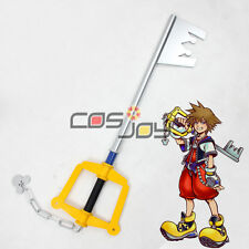 "Cosjoy 39"" Kingdom Hearts Kingdom Key Sora's Keyblade PVC Cosplay Prop 0016"