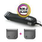 WAHL KM-2 Clipper + EXTRA BLADE - 2 Speed Pet/Dog/Animal KM2 BLADE SIZE CHOICE