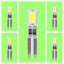 5X T5 2 SMD LED Leuchte Glassockel Lampe Knopf Tachobeleuchtung Weiss DC 12V