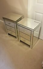 bedside cabinets mirror