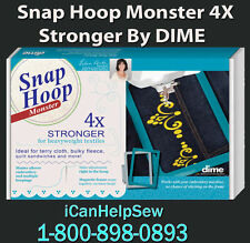 Snap Hoop Monster Magnetic Embroidery Hoop 260x200mm HM2 for Viking Husqvarna
