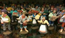20 pastori 4,5 cm pastore presepe nativita' presepio terracotta sheperds crib