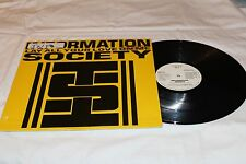 """Information Society 12"""" Promo Single with Original Cover-LAY YOUR LOVE ON MEx5+1"""