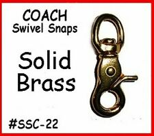 Replacement Swivel Dog Snap Strap Part - OLD STYLE - COACH HAND BAG PURSE