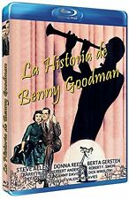 The Benny Goodman Story (Blu-Ray) Steve Allen, Donna Reed, Valentine Davies NEW