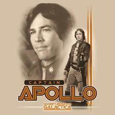 Original Battlestar Galactica Captain Apollo Photo T-Shirt Size XXXL NEW UNWORN