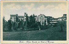 CARTOLINA d'Epoca BIELLA Citta'  - Castello Ternengo
