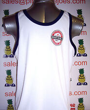 Bintang Beer Bali Singlet Vest Top White size S **UK STOCK** New
