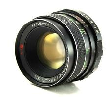 Sears/Sekor SX 55mm F1.8 Lens M42 /Pentax Screw Mount