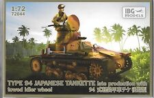 IBG Type 94 Japanese Tankette, Late Production 1/72 72044 ST